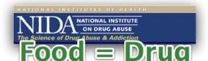 NIDA makes the connection between Food Addiction and Drug Addiction