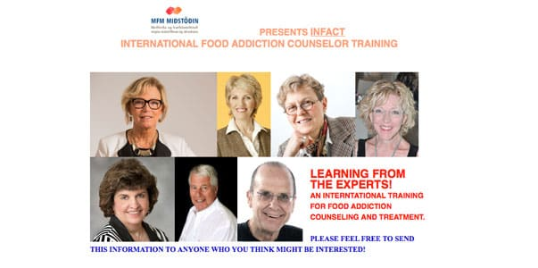 Want to  learn how to be a real food addiction counsellor?